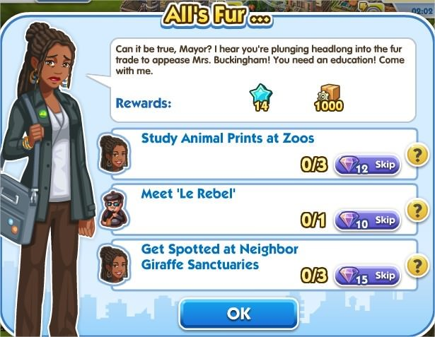 SimCity Social, All's Fur ...