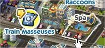 SimCity Social, Rub Down