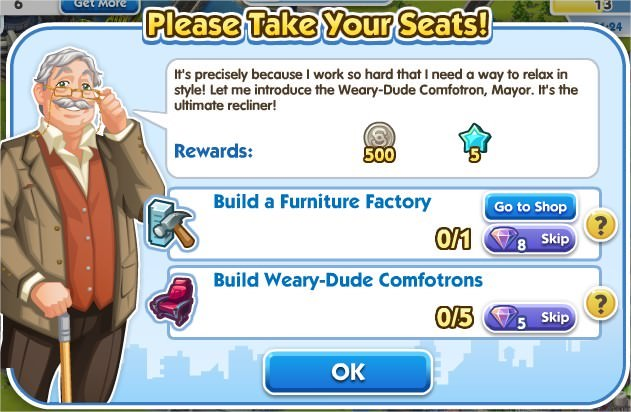SimCity Social, Please Take Your Seats!