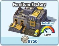 SimCity Social, Furniture Factory