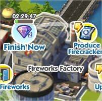 SimCity Social, Lightung the Fuse