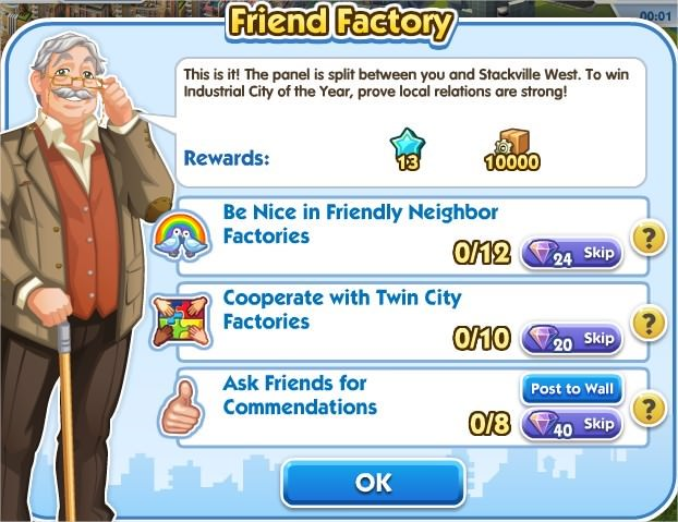 SimCity Social, Friwnd Factory