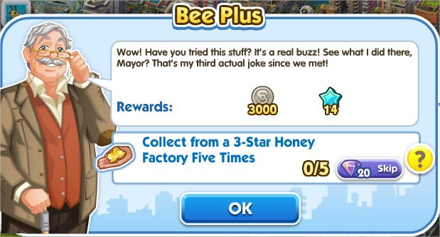 SimCity Social, Bee Plus