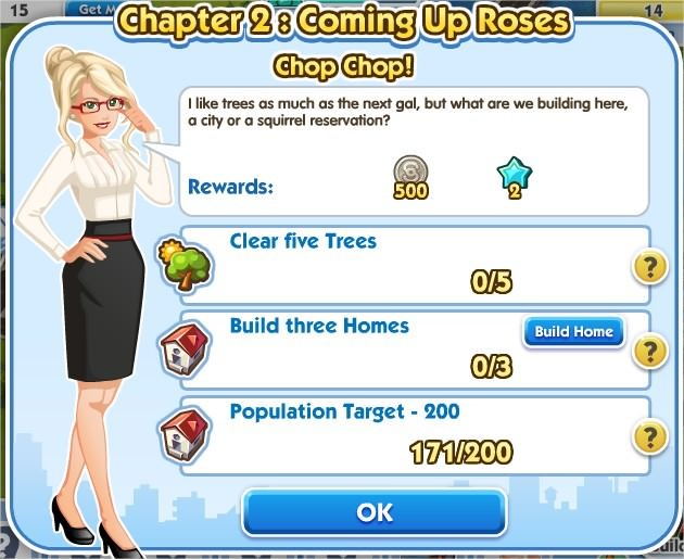 SimCity Social, Chop Chop!