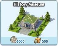 SimCity Social, History Meseum