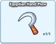 SimCity Social, Egyptian Hand Plow