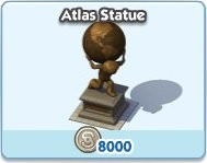 SimCity Social, Atlas Statue