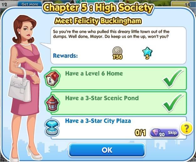 SimCity Social, Meet Felicity Buckingham