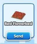 SimCity Social, Red  Flowerbed