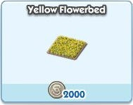 SimCity Social, Yellow  Flowerbed