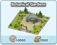 SimCity Social, Botanical Gardens