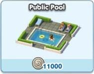 SimCity Social, Public Pool