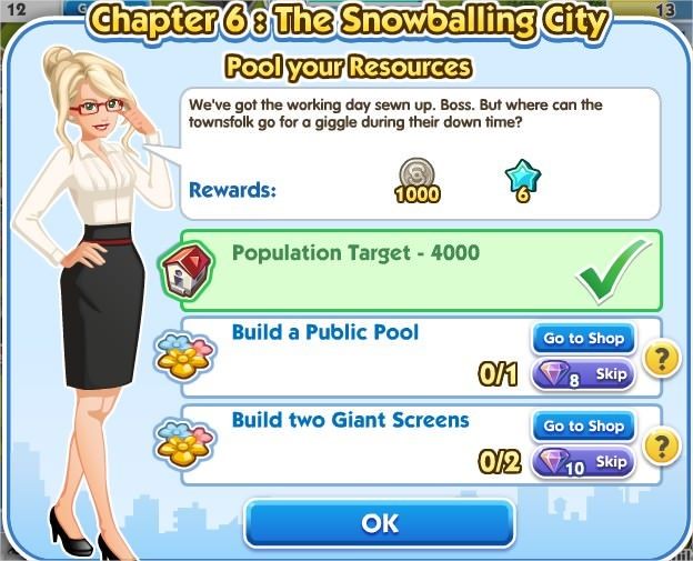 SimCity Social, Pool your Resources