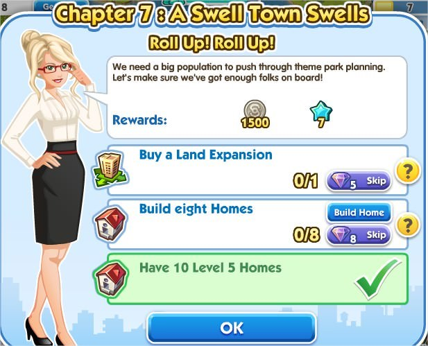 SimCity Social, Roll Up! Roll Up!