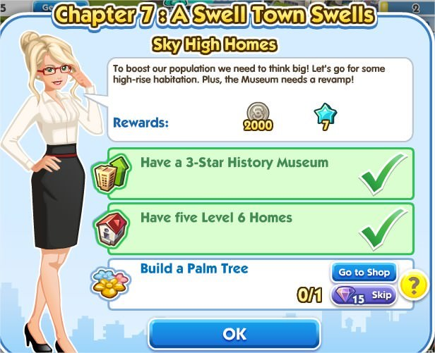 SimCity Social, Sky High Homes