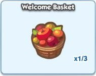 SimCity Social, Welcome Basket