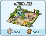 SimCity Social, Theme Park
