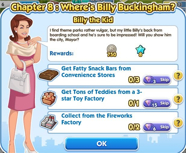 SimCity Social, Billy the Kid