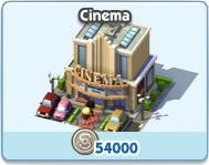 SimCity Social, Cinema