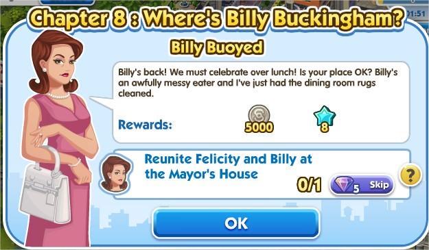 SimCity Social, Billy Buoyed