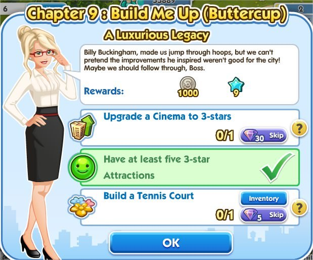 SimCity Social, A Luxurious Legacy
