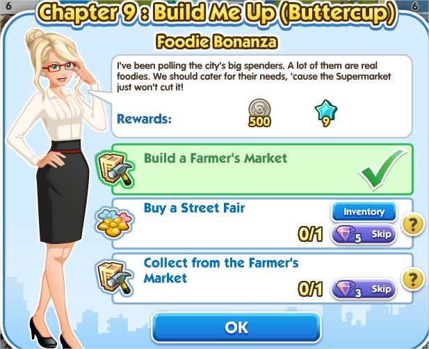 SimCity Social, Foodie Bonanza