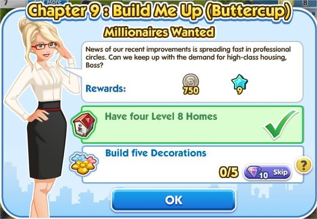 SimCity Social, Millionaires Wanted
