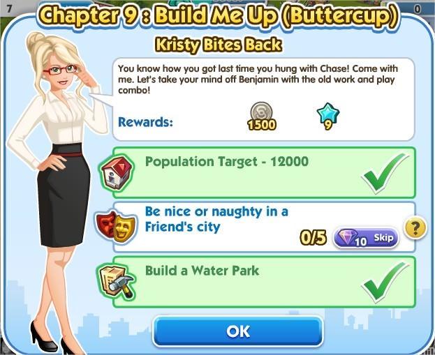 SimCity Social, Kristy Bites Back