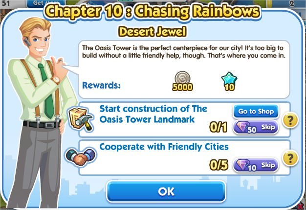 SimCity Social, Desert Jewel