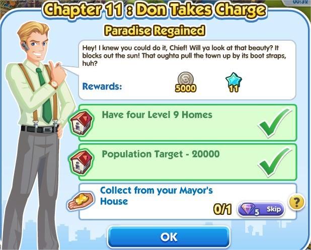 SimCity Social, Paradise Regained