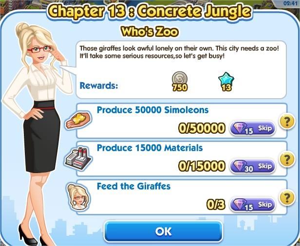 SimCity Social, Who's Zoo
