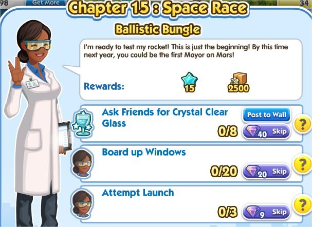 SimCity Social, Ballistic Bungle