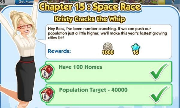 SimCity Social, Kristy Cracks the Whip