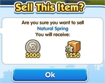 SimCity Social, 天然裝飾(Natural Decorations)