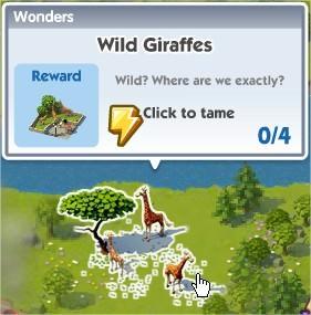 SimCity Social, Wild Giraffes(野生長頸鹿)