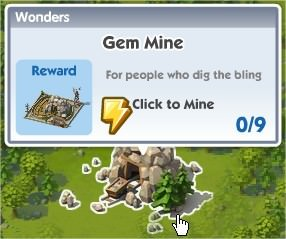 SimCity Social, Gem Mine(寶石礦)