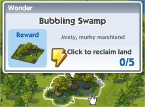 SimCity Social, Bubbling Swamp