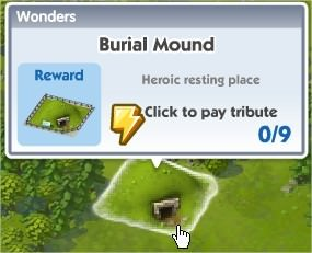 SimCity Social, Burial Mound