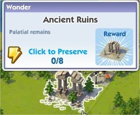 SimCity Social, Ancient Ruins(古代遺址)