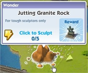 SimCity Social, Jutting Granite Rock(突出的花崗岩)