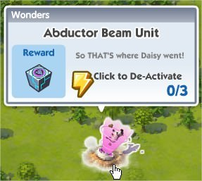 SimCity Social, Abductor Beam Unit(綁架光束元件)