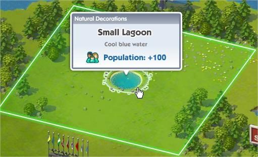 SimCity Social, Small Lagoon