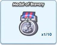 SimCity Social, Medal of Bravery