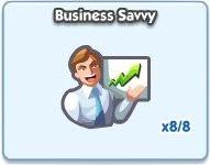 SimCity Social, Business Savvy