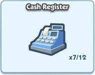 SimCity Social, Cash Register