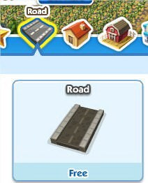 SimCity Social, Road