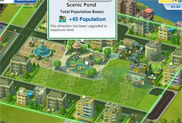 SimCity Social, Homes