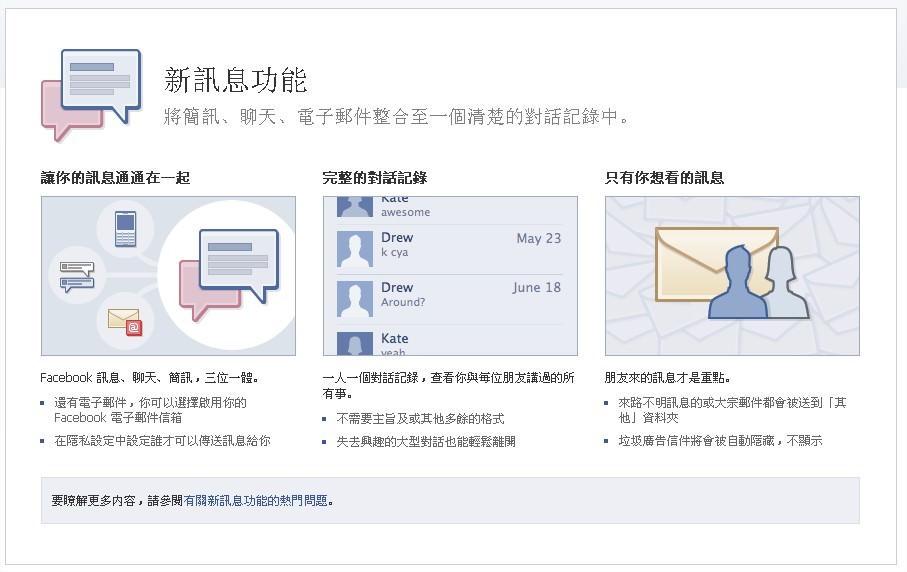 Facebook 聊天室