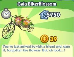 The Sims Social, Gaia BikerBlossom