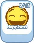 The Sims Social, Happiness